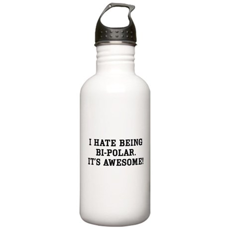 Hate Awesome Bi-Polar Stainless Water Bottle 1.0L
