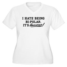 Hate Awesome Bi-Polar T-Shirt