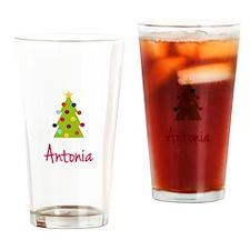 Christmas Tree Antonia Drinking Glass