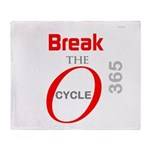 OYOOS Break the Cycle design Throw Blanket