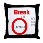 OYOOS Break the Cycle design Throw Pillow