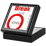 OYOOS Break the Cycle design Keepsake Box