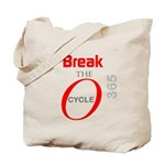 OYOOS Break the Cycle design Tote Bag