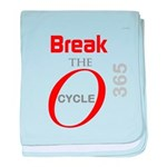 OYOOS Break the Cycle design baby blanket