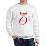 OYOOS Break the Cycle design Sweatshirt