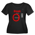 OYOOS Break the Cycle design Women's Plus Size Sco