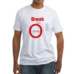 OYOOS Break the Cycle design Fitted T-Shirt