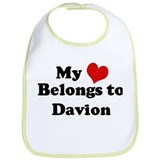 My Heart: Davion Bib