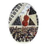 Cello and Orchestra Ornament