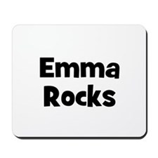 Emma Rocks Mousepad
