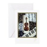 Violin Greeting Cards (Pk of 10)