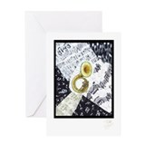 Sousaphone Greeting Card