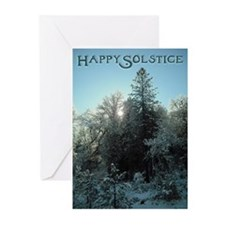 Happy Solstice Greeting Cards (Pk of 10)