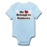 My Heart: Dashawn Infant Creeper