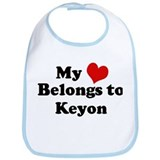 My Heart: Keyon Bib