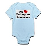 My Heart: Johnathon Infant Creeper