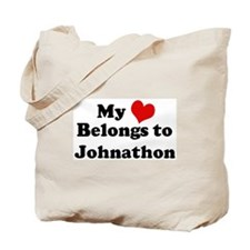 My Heart: Johnathon Tote Bag