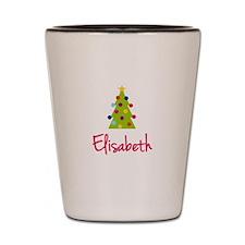 Christmas Tree Elisabeth Shot Glass