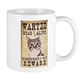 Wanted: Shrodinger's Cat Small Mug
