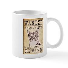 Wanted: Shrodinger's Cat Small Mug