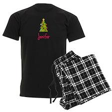 Christmas Tree Jenifer Pajamas