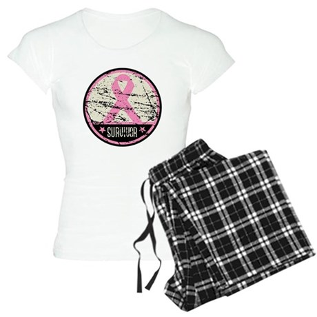 Breast Cancer Survivor Women's Light Pajamas