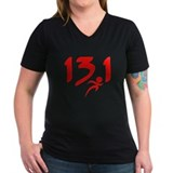 Red 13.1 half-marathon Shirt