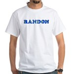 Randon White T-Shirt