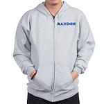 Randon Zip Hoodie