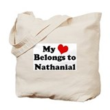 My Heart: Nathanial Tote Bag