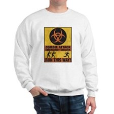 Zombie Attack Emergency Shelter Sweatshirt