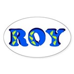 Roy Sticker (Oval)