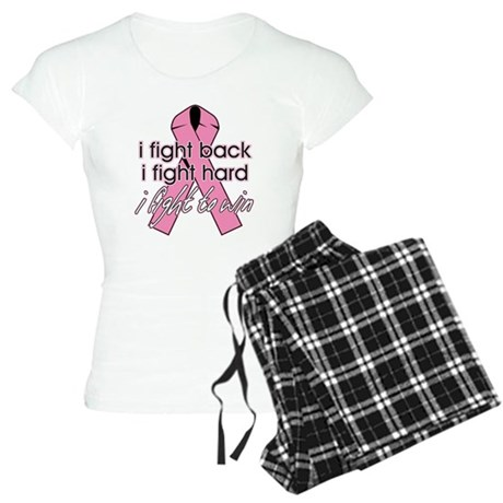 I Fight Back Breast Cancer Women's Light Pajamas