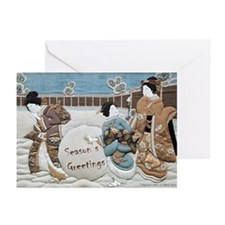 Little Maids Greeting Cards (Pk of 10)
