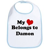 My Heart: Damon Bib