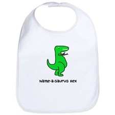 Name your own T-Rex! Bib