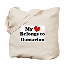 My Heart: Damarion Tote Bag