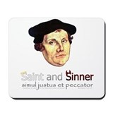 Saint and Sinner Mousepad