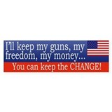 Keep the Change Bumpersticker