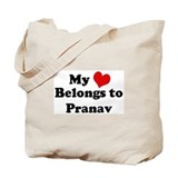 My Heart: Pranav Tote Bag