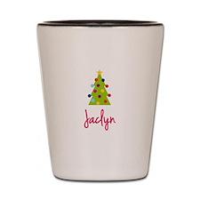 Christmas Tree Jaclyn Shot Glass