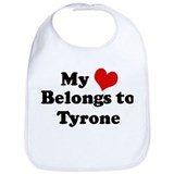My Heart: Tyrone Bib