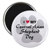 Central Asian Shepherd Dog Magnet