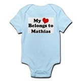 My Heart: Mathias Infant Creeper