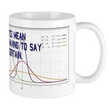 Statistics Means Uncertainty Small Mug