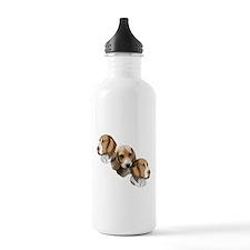 beagle portraits Water Bottle