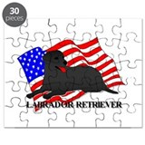 Labrador Retriever USA Puzzle