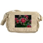 .pink kalanchoe. Messenger Bag