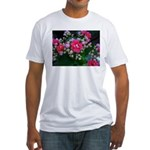 .pink kalanchoe. Fitted T-Shirt
