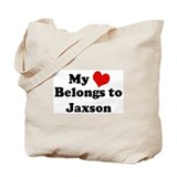 My Heart: Jaxson Tote Bag